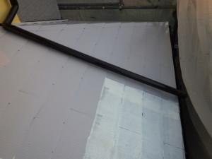 中塗り 小屋根