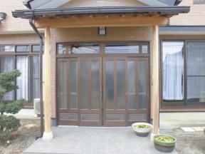 平塚市万田のM様邸 木造一戸建て 木部のあく洗い