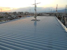 小田原市国府津 某マンション|屋根の塗装工事