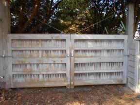 茅ヶ崎市 木門|木門の塗装工事
