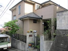 横浜市金沢区富岡西のS様邸 木造一戸建て|外壁・屋根の塗装工事(塗料:UVプロテクトクリアー)