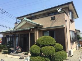 平塚市真土のI様邸 木造一戸建て|外壁・屋根の塗装工事(塗料:UVプロテクトクリアー)