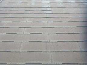 小田原市早川のK様邸 木造一戸建て 屋根の塗装工事(塗料:パラサーモ)