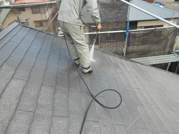 平塚市札場町のI様邸 木造一戸建て|外壁・屋根の塗装工事(塗料:コスモマイルドシリコンⅡ)