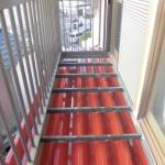 横浜市南区のT様邸 木造一戸建て 屋根の塗装工事(塗料:アレスクール)