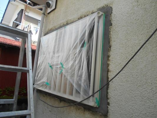 神奈川県平塚市のN様邸・木造住宅|窓廻りの補修塗装工事(塗料:セラMレタン)