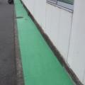 神奈川県小田原市の某精密機械・製造工場 アスファルトの塗装工事(塗料:ハードライン)