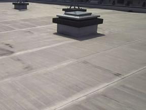 神奈川県平塚市の某ビル|屋上の防水工事(塗料:プルーフロン)