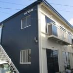 神奈川県平塚市の某賃貸アパート 外壁・屋根・付帯部(フッ素塗料)の塗装工事