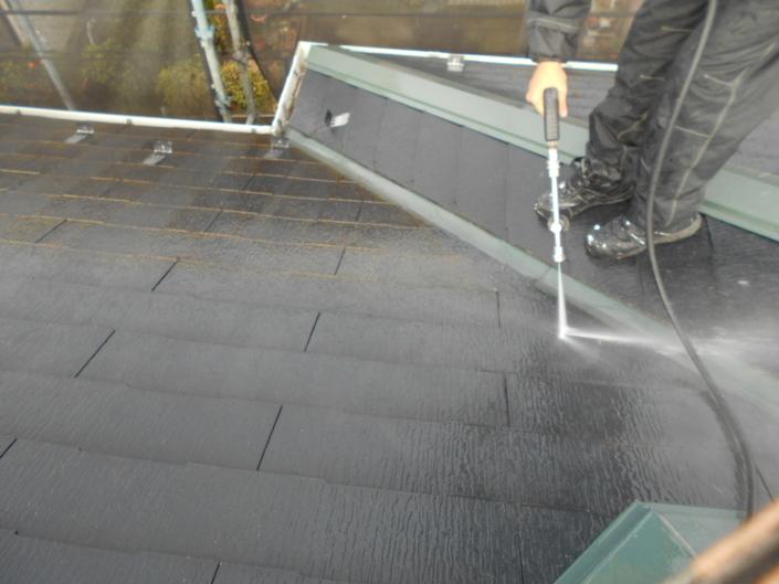 木造2階建ての外壁・屋根・付帯部の塗装リフォーム工事|神奈川県平塚市長持のO様邸