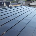 桟葺き屋根の塗装工事|神奈川県平塚市のH様邸