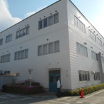 事務棟の外壁の塗装工事|神奈川県小田原市の某繊維工場