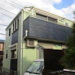 木造2階建ての外壁・屋根・付帯部の塗装工事 神奈川県平塚市長持のO様邸