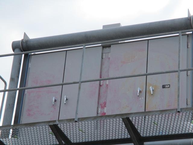 標識の「落書き消し」・「落書き防止塗装」|神奈川県平塚市豊田の道路標識