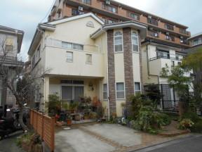 木造2階建ての外壁・屋根・付帯部の塗装リフォーム工事|神奈川県平塚市四之宮のN様邸