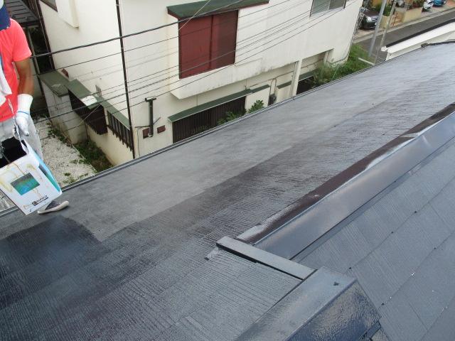 カラーベスト屋根の塗装工事|神奈川県平塚市のY様邸