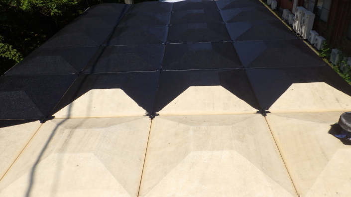 受水槽の塗装工事 神奈川県平塚市・某病院のリフォーム工事