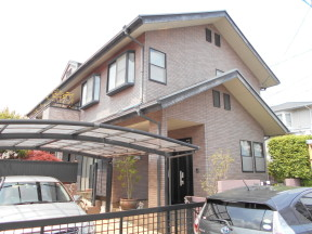 木造2階建ての外壁・屋根・付帯部の塗装リフォーム工事|神奈川県平塚市中里のS様邸