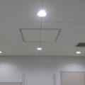 共用トイレの天井塗装