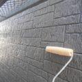 外壁のクリア塗装工事