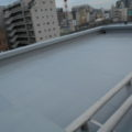 屋上のウレタン防水工事あc