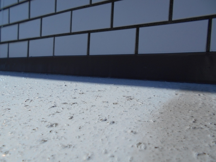 屋上の雨漏りに伴う防水工事|神奈川県平塚市明石町のマンションの屋上防水工事