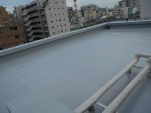 マンションの屋上防水後