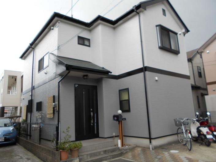外壁・屋根・付帯部の塗装工事完工