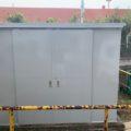 スチール製の倉庫の塗装工事|平塚市の某社員寮の倉庫にて塗り替えリフォーム
